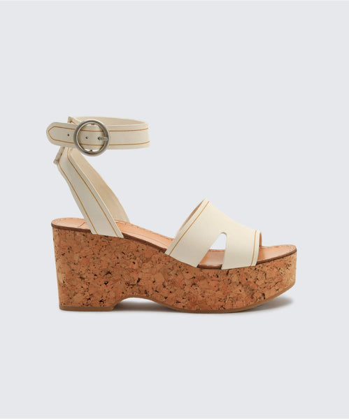 LINDA WEDGES IN OFF WHITE -   Dolce Vita