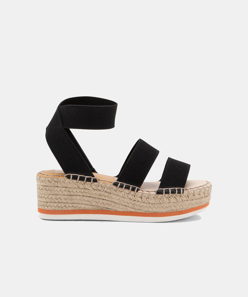 LURY SANDALS IN BLACK -   Dolce Vita