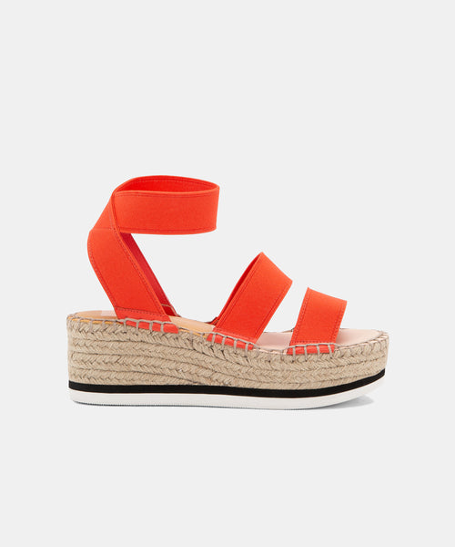 LURY SANDALS IN CORAL -   Dolce Vita