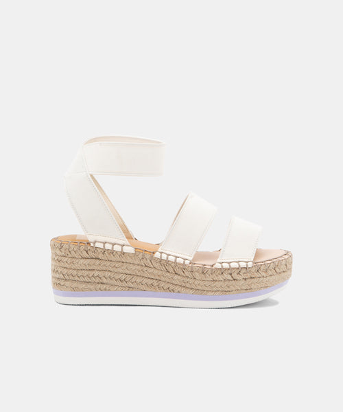 LURY SANDALS IN WHITE -   Dolce Vita