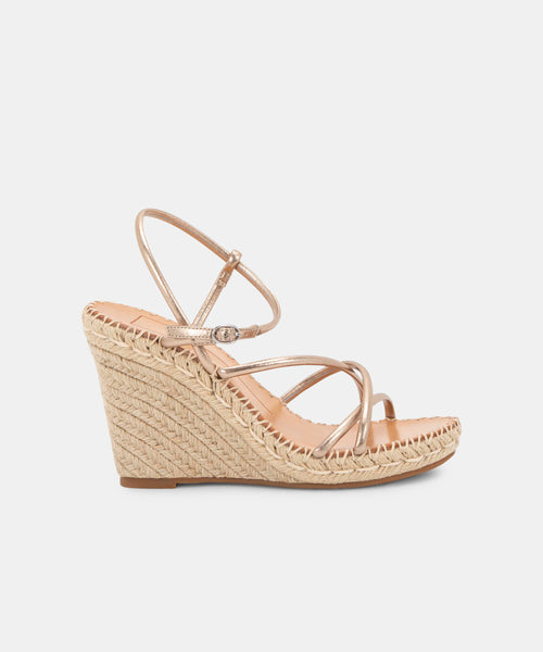NADINE WEDGES IN COPPER -   Dolce Vita