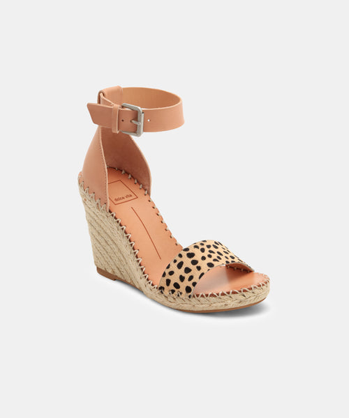 NOOR WEDGES IN LEOPARD -   Dolce Vita