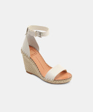 NOOR WEDGES IN WHITE -   Dolce Vita