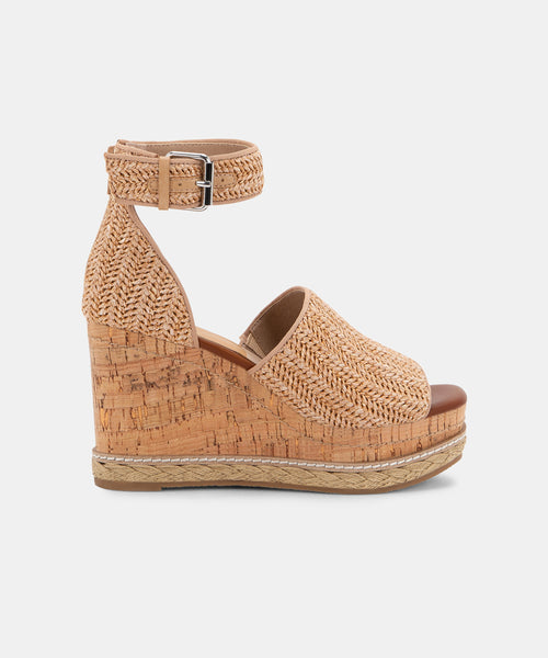 OTTO WEDGES IN NATURAL -   Dolce Vita