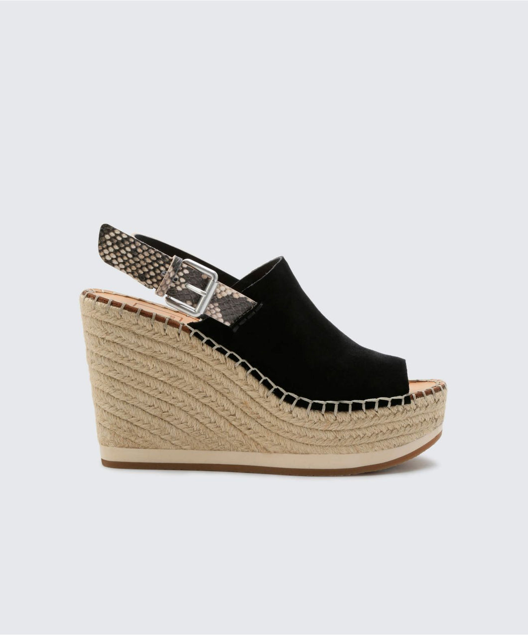 SHAN WEDGES IN BLACK -   Dolce Vita