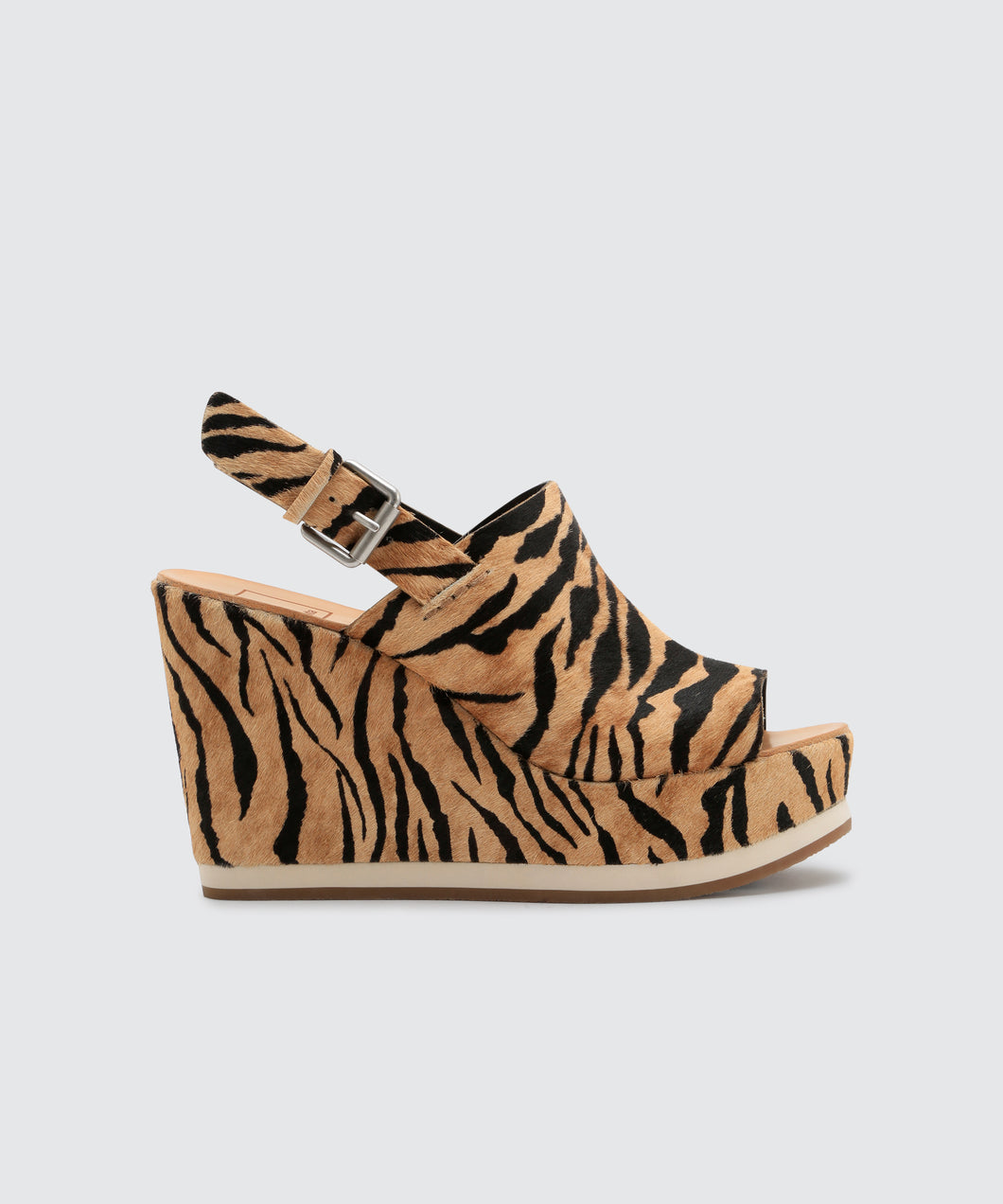 SHAN WEDGES IN TIGER -   Dolce Vita
