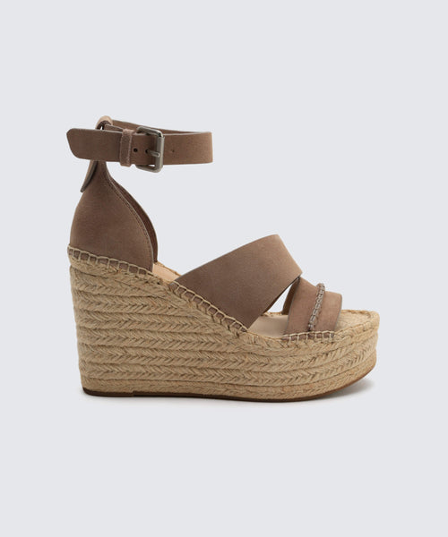 SIMI WEDGES IN ALMOND -   Dolce Vita