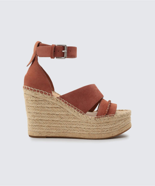SIMI WEDGES IN CLAY -   Dolce Vita
