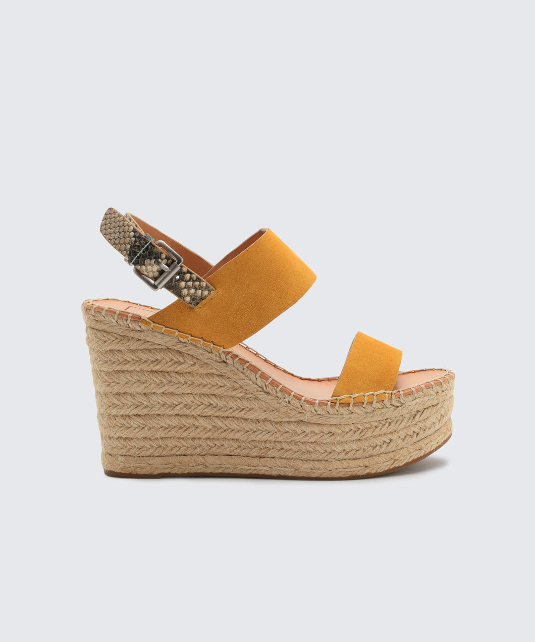 SPIRO WEDGES IN HONEY -   Dolce Vita
