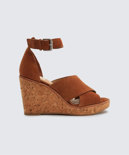 URBANE WEDGES IN BROWN -   Dolce Vita