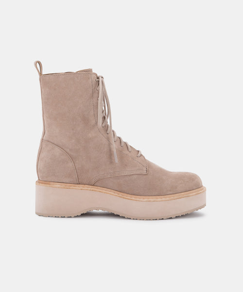 VELA BOOTS IN ALMOND SUEDE -   Dolce Vita