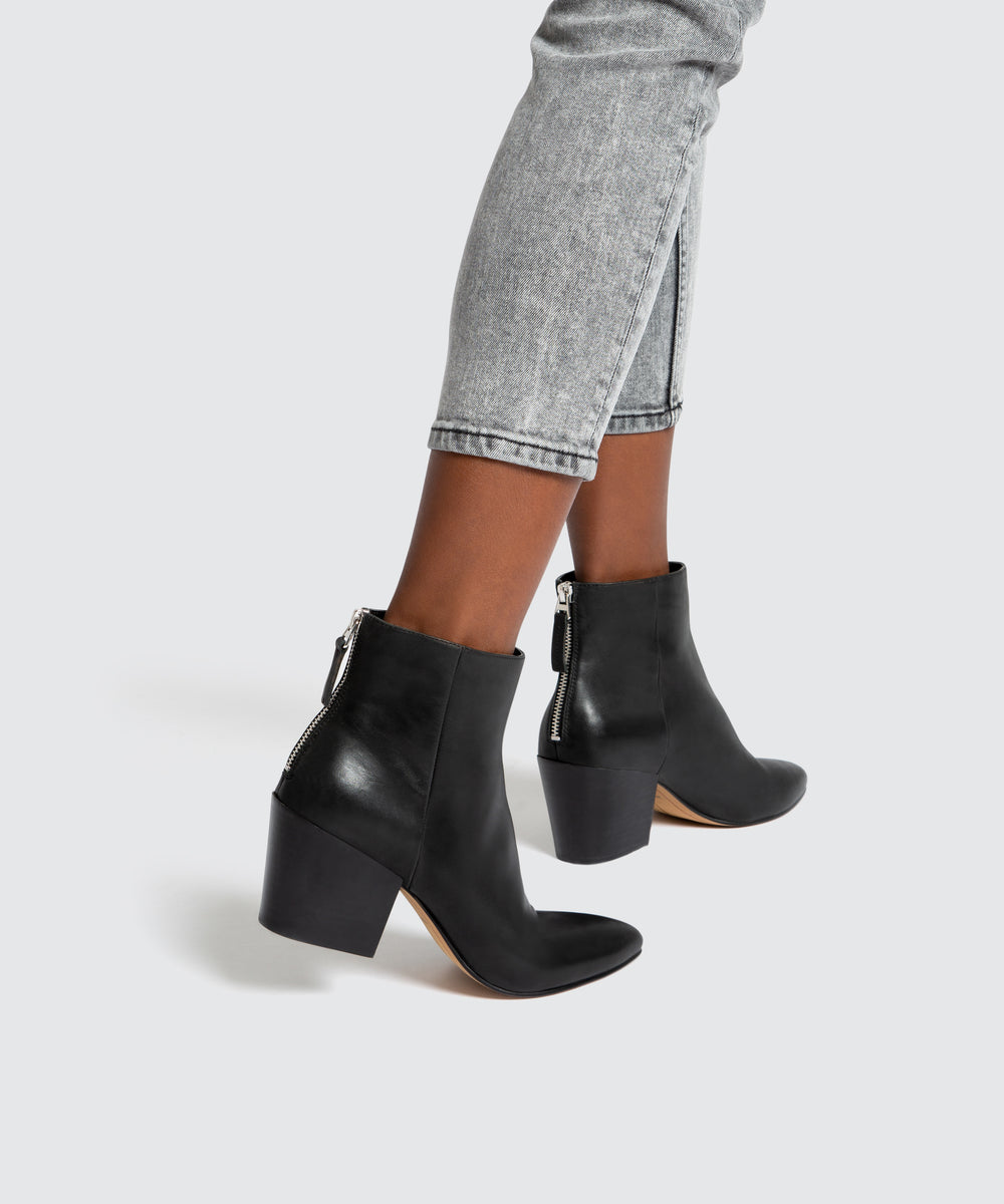 COLTYN BOOTIES IN BLACK – Dolce Vita