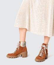 RUBI BOOTS IN BROWN -   Dolce Vita