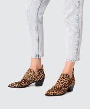 SONNI BOOTIES IN DARK LEOPARD -   Dolce Vita