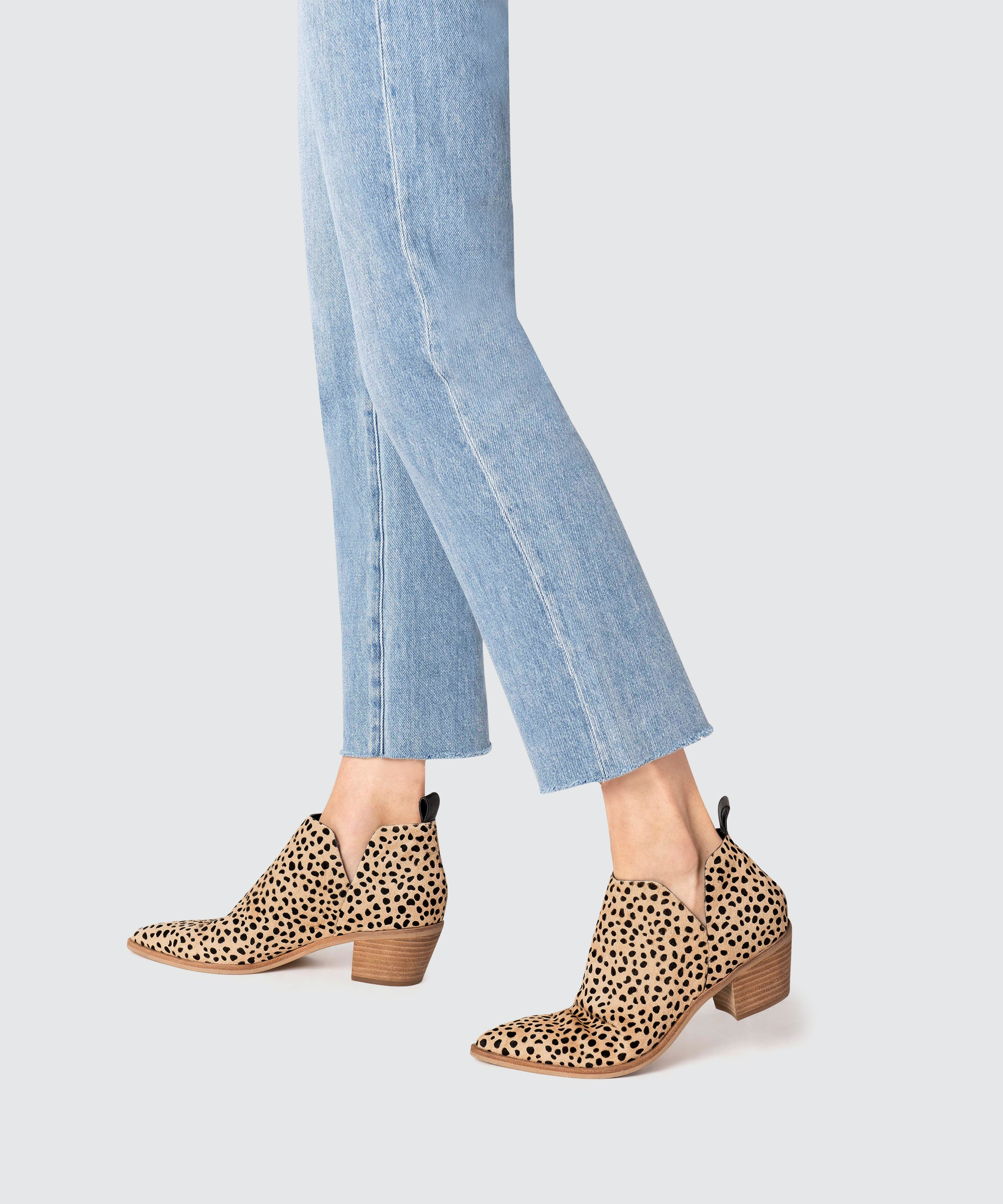 SONNI BOOTIES IN LEOPARD – Dolce Vita
