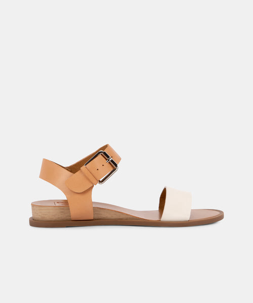 PATTE SANDALS IN NUDE MULTI -   Dolce Vita