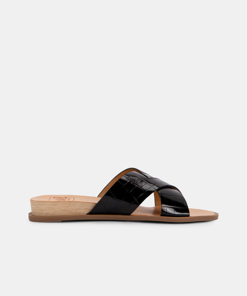 PRISCA SANDALS IN BLACK -   Dolce Vita