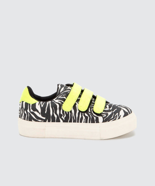 CARRI SNEAKERS IN ZEBRA -   Dolce Vita