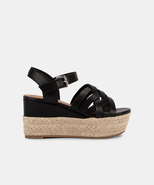 BETTY WEDGES IN BLACK -   Dolce Vita