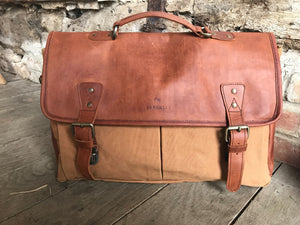 Barholm Briefcase - Tan (Grade 1)