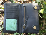 The Wix. A rugged, military styled wallet by Burghley Bags
