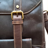 Carlton  – Retro-Modern Full Leather Backpack