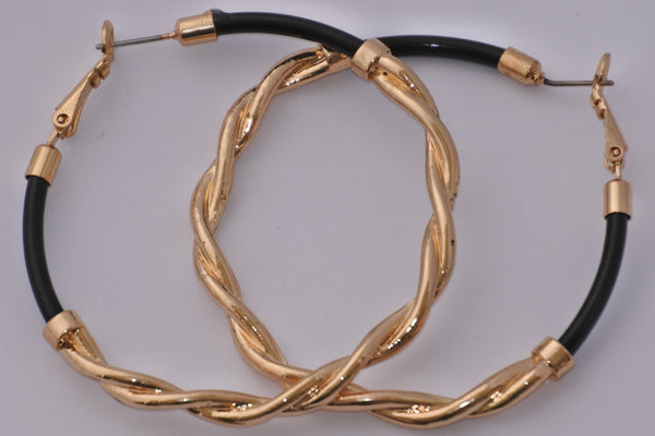 Boucles d'oreille - Gold & Black
