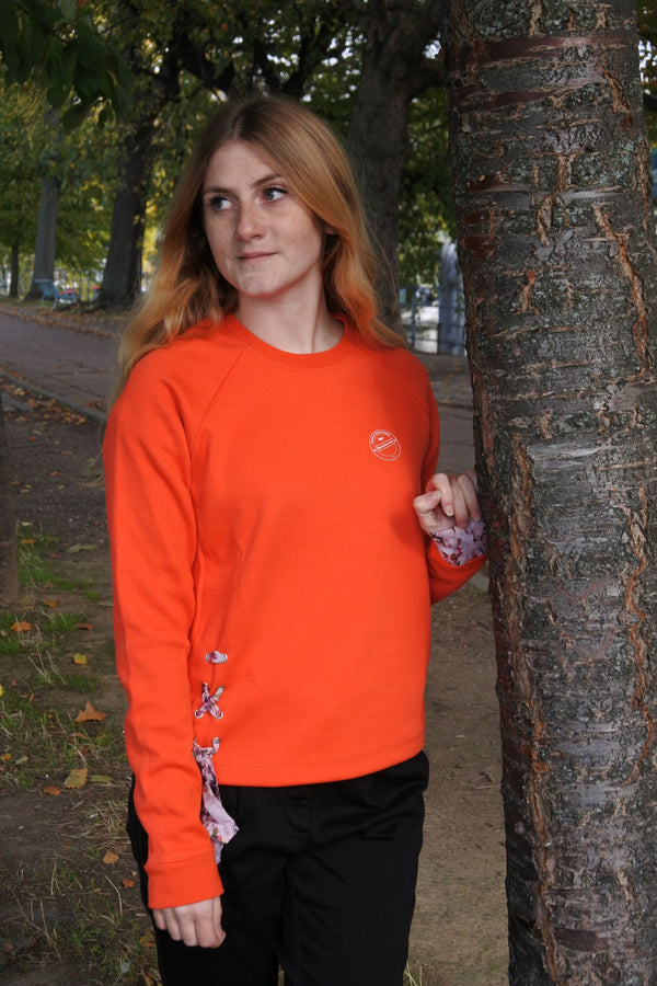 Sweat pull Intemporel Orange Corail