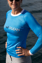Load image into Gallery viewer, Women's One Ocean UV Rash Guard