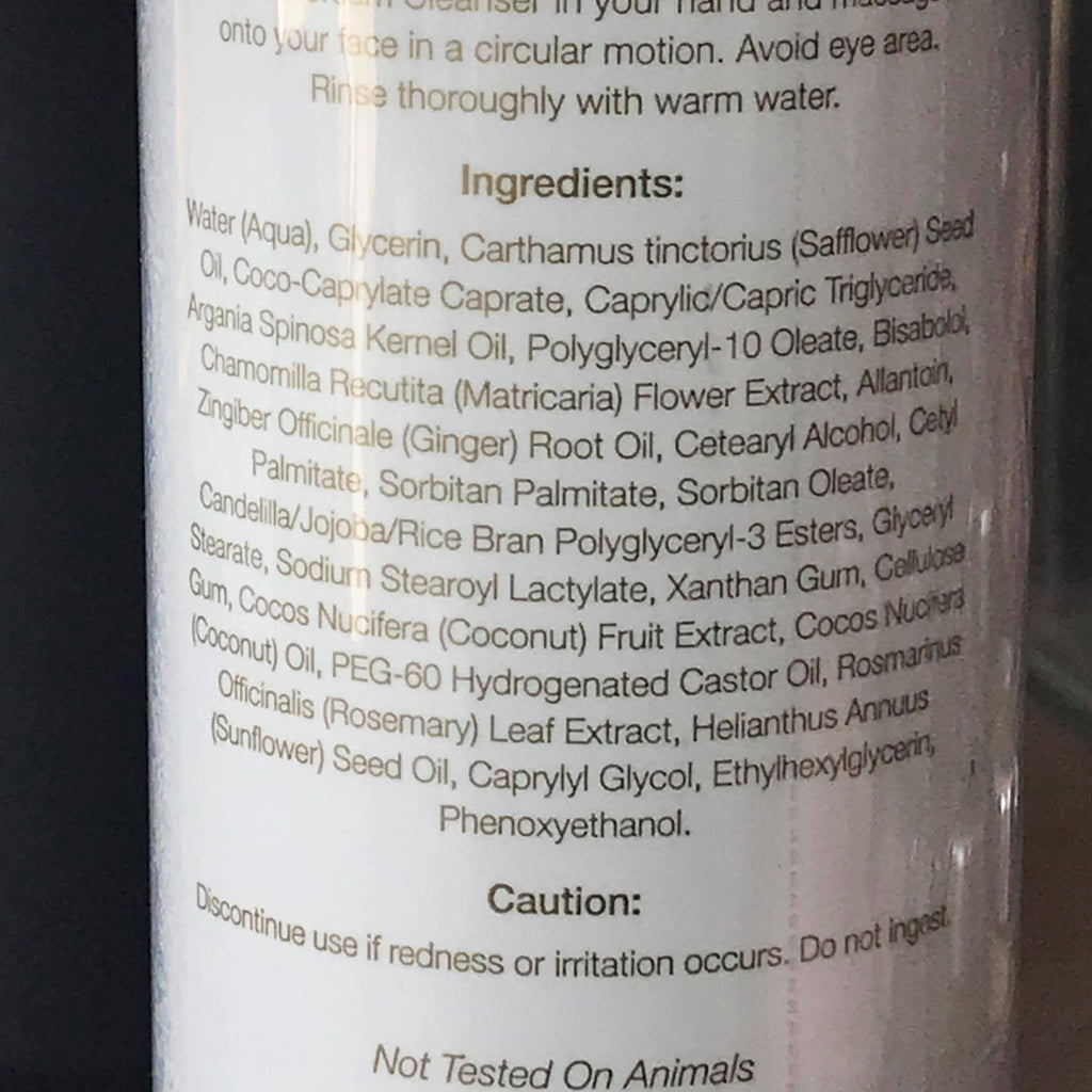 Coconut Cream Cleanser