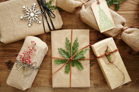 brown recylable wrapping paper
