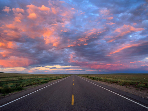 image of the sky and a road originally found from the national geographic