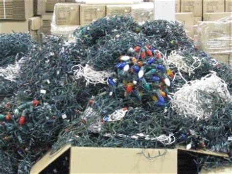millions of lights end up in landfill and never decompose, polluting the earth