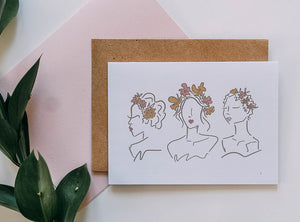 Women in Bloom Card