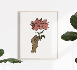 Share Your Bloom Print