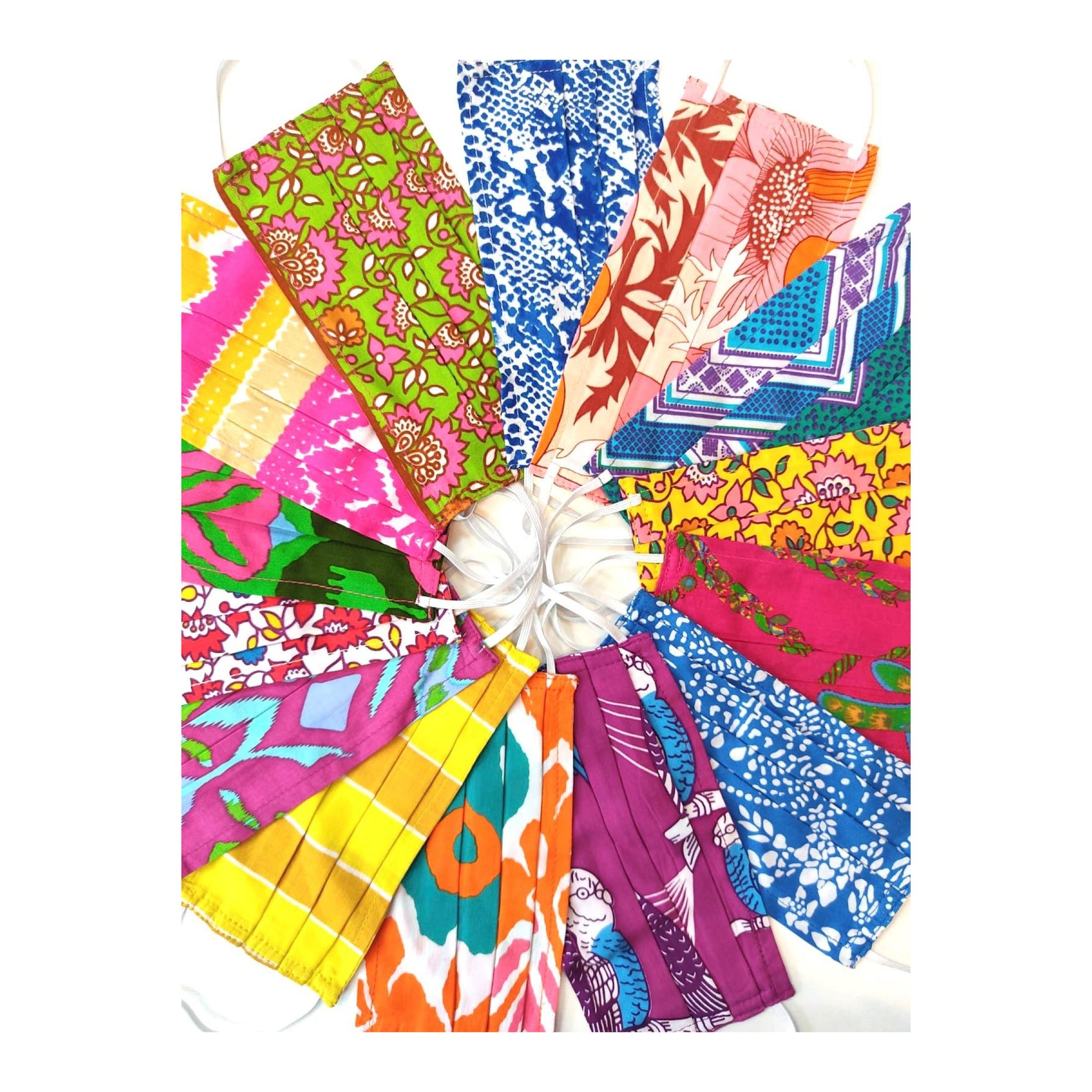 Reusable Face Coverings / Assorted Cotton Prints