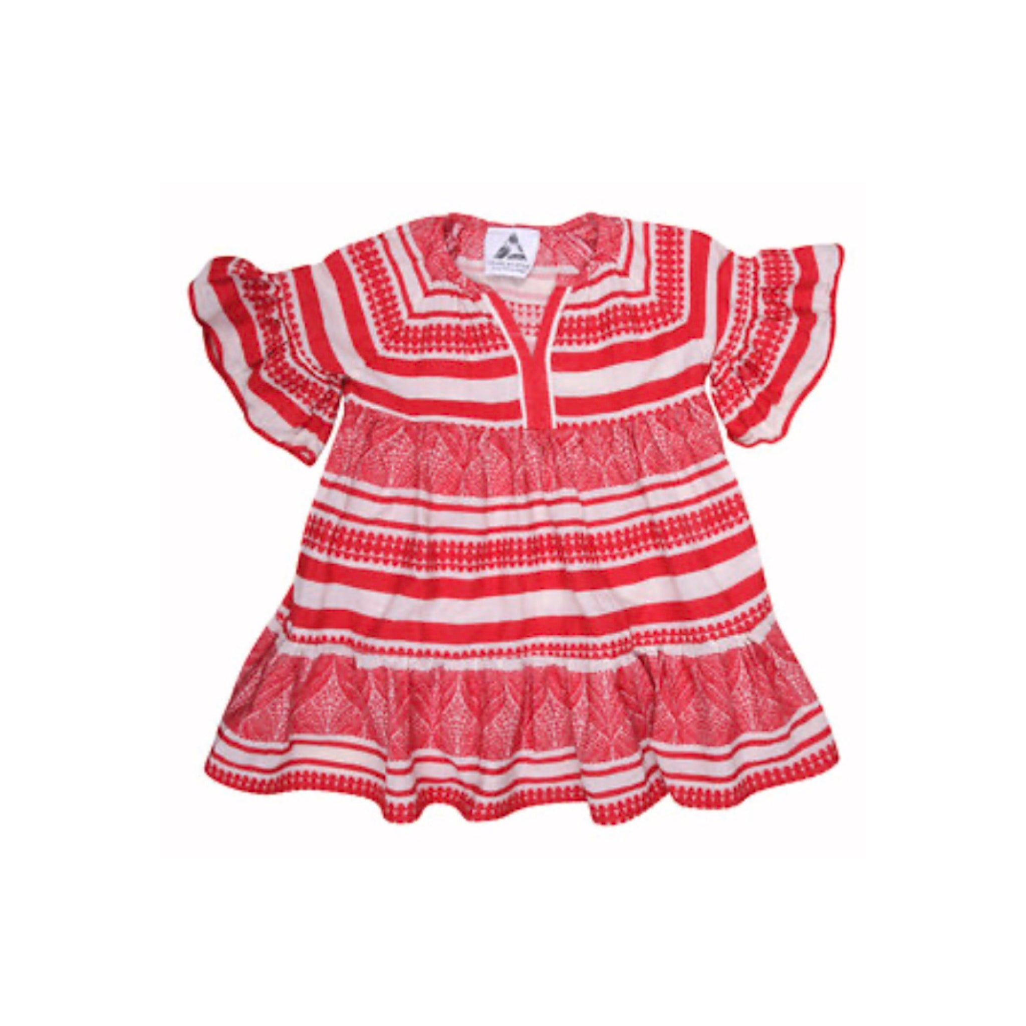 Kid's Zakar Dress Red