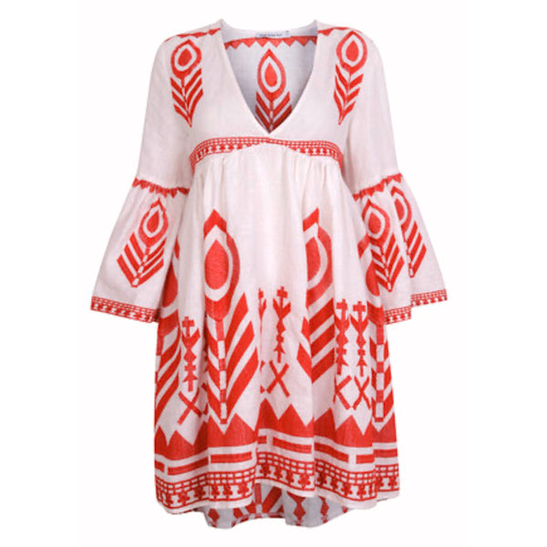 Greek Style Mini Dress
