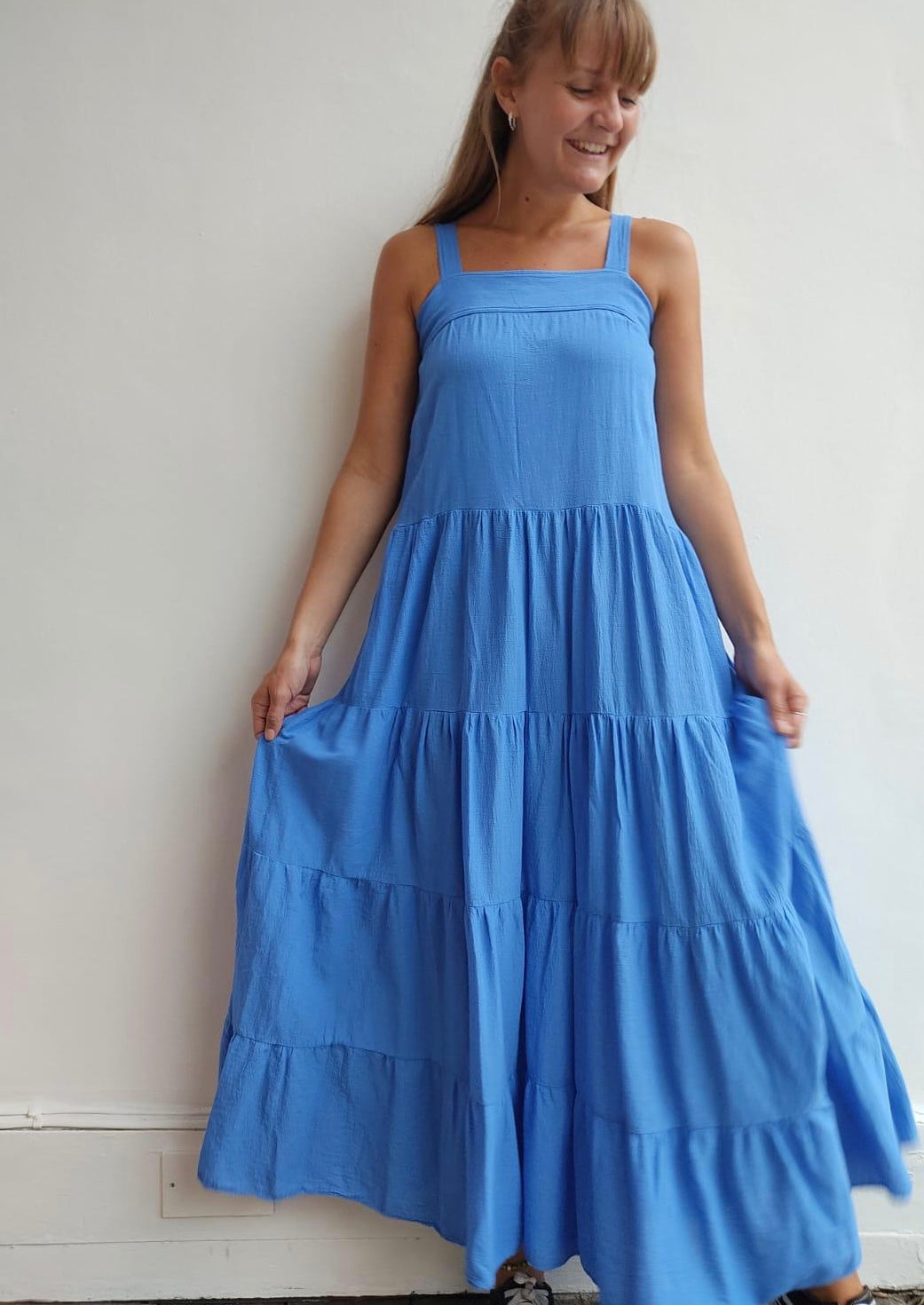 Sayulita Dress Moroccan Blue