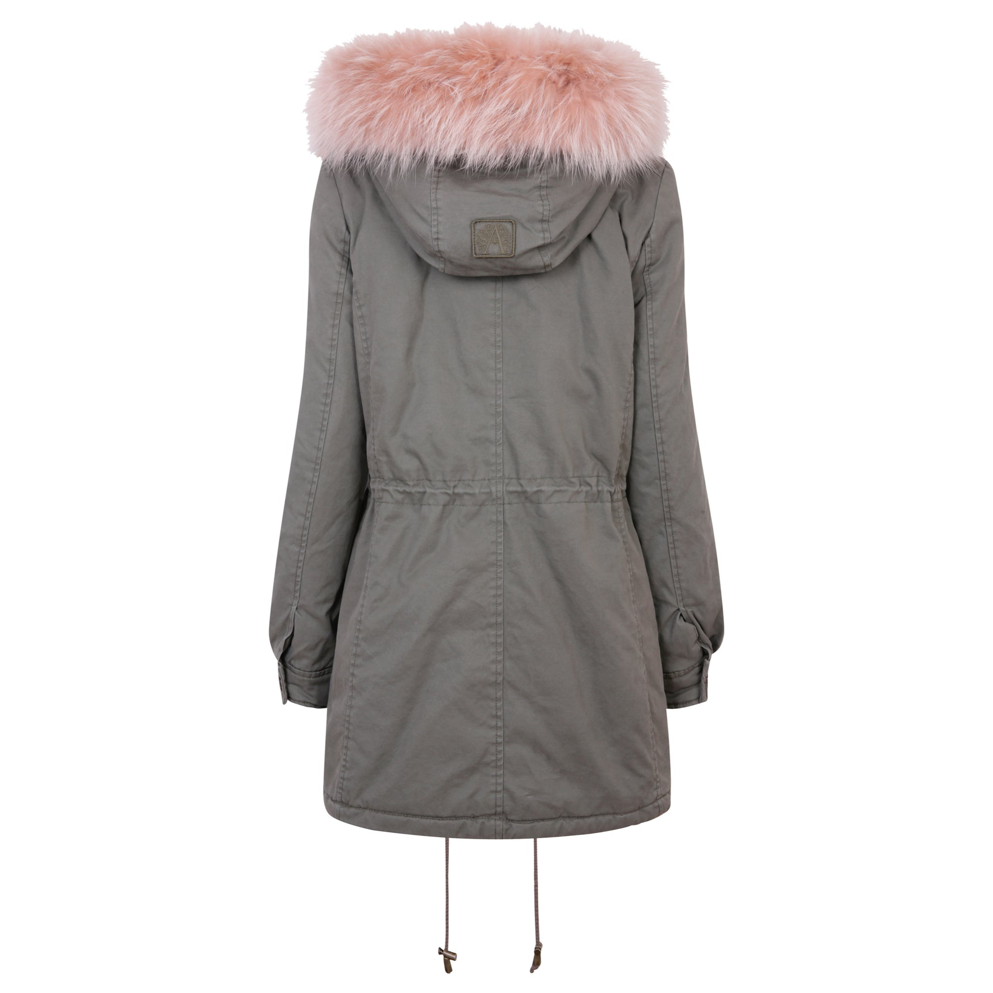 Clementine Military/Stucco Parka