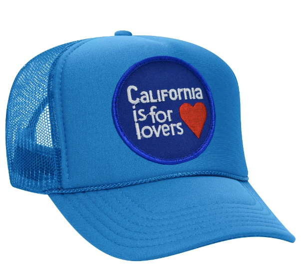 Cali Is For Lovers Trucker Hat - Turquoise