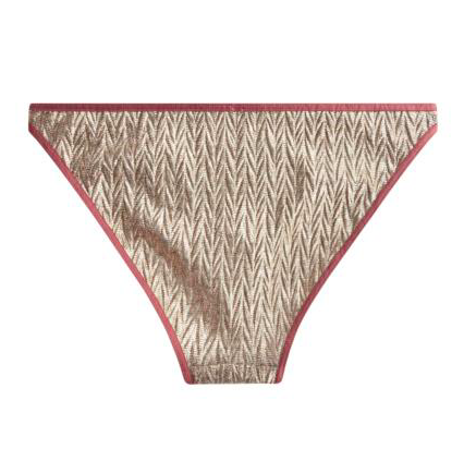 Shelby Gold Knit Brief
