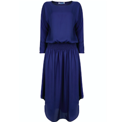 Plain Jane Midi Dress - Midnight