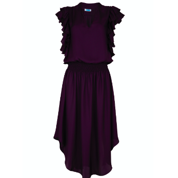 Ruffle Jane Purple