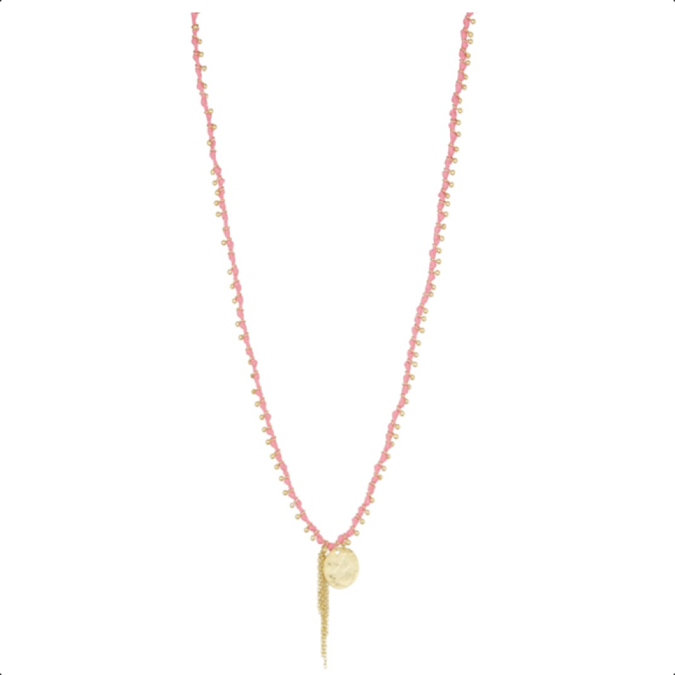 Sunset Necklace Pink