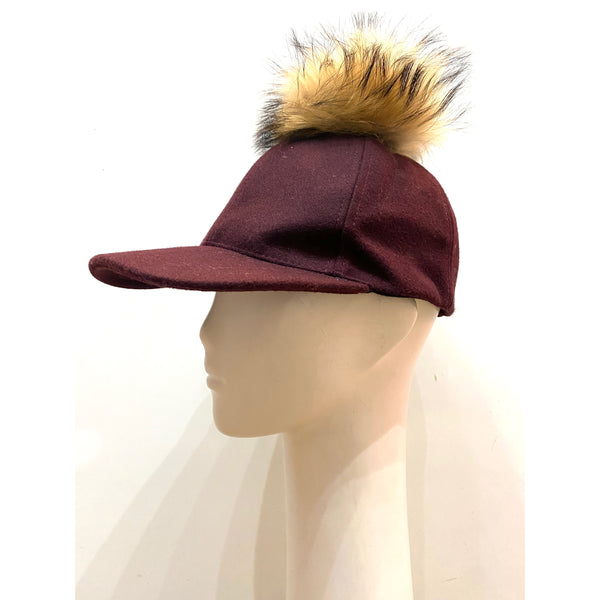 Wool Hat Bordeaux