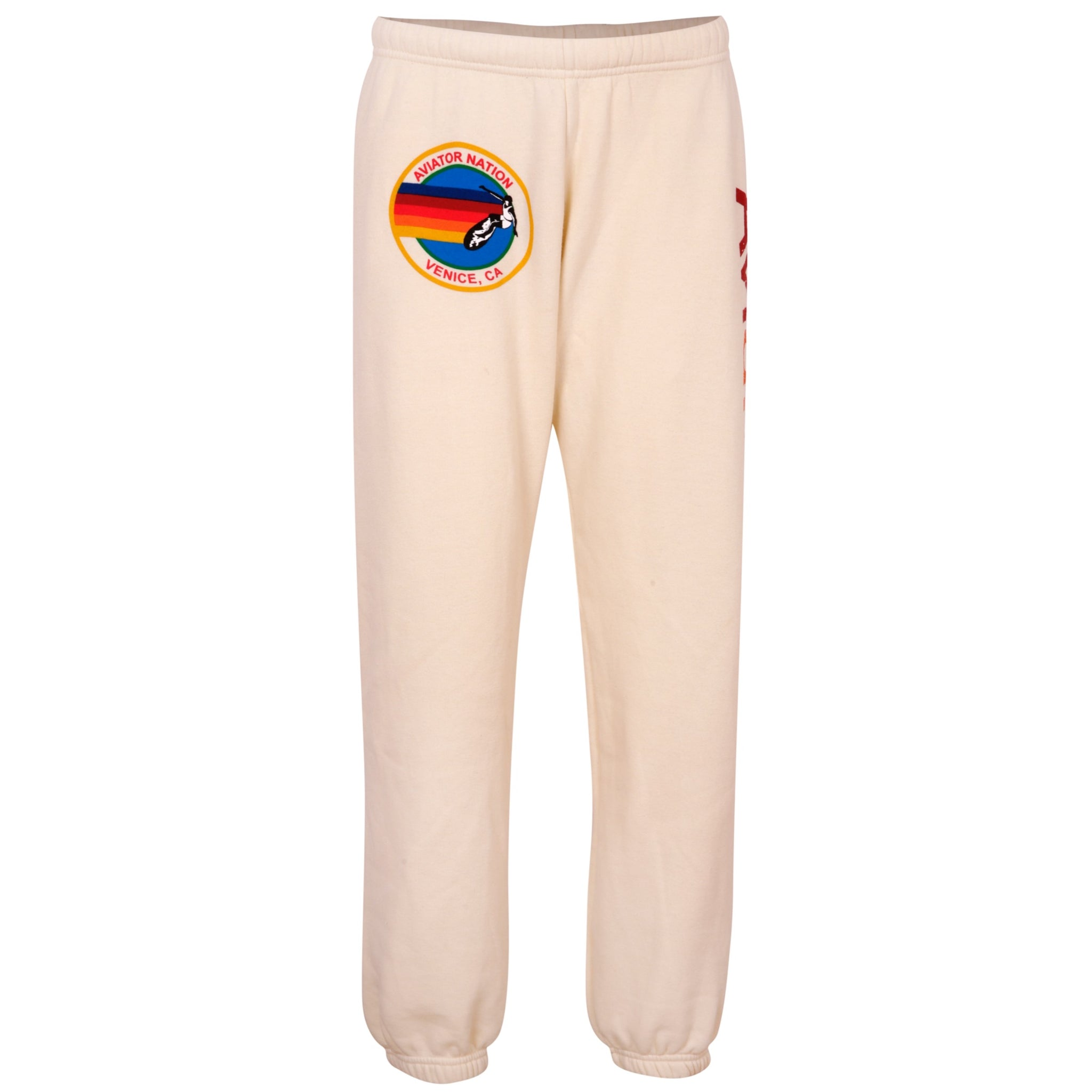 Logo Sweatpants - cream