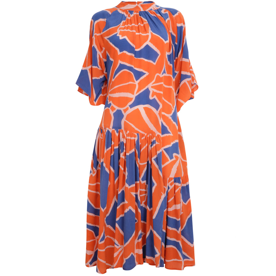 An An Londree Swing Dress Coral