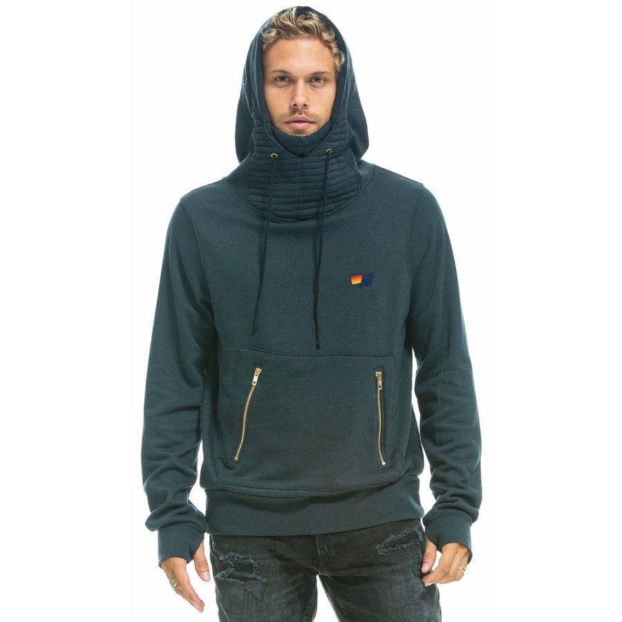 Aviator Nation Ninja Pullover Hoodie Light Grey