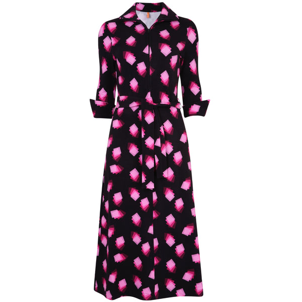 Shirt Dress Pink Square